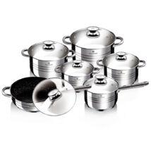 Blaumann Gourmet Line Jumbo 12 részes rozsdamentes acél edénykészlet (BL-3167)