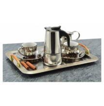 Perfect Home 2 személyes rozsdamentes acél kotyogós kávéfőző (28011)