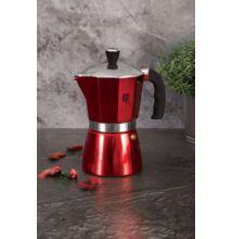 Berlinger Haus Burgundy Metallic Line 6 személyes kotyogós kávéfőző (BH-6388)