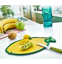 Műanyag vágódeszka citrom alakú 24x33,5cm (DC-710)