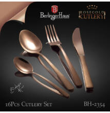 Berlinger Haus 16 db-os evőeszközkészlet Rose Gold Collection (BH-2354)