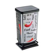 Rotho fémhatású pedálos szemetes 40L (RS-4015021)