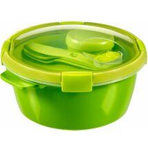 CURVER 1,6 l-es ételtároló evőeszközökkel, tálcával, szósztartóval (CU-232565)