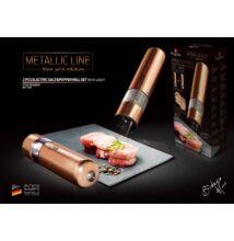 Berlinger Haus 2db-os elektromos só-és borsőrlő szett Metallic Line Rose Gold Edition (BH-1905)