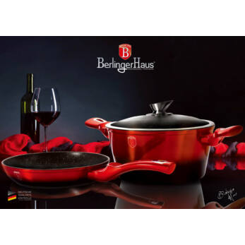 Berlinger Haus Metallic Line Burgundy 3 részes edénykészlet (BH-1291)