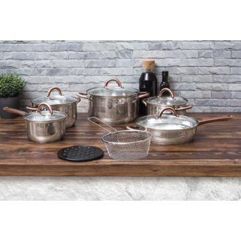 Blaumann Gourmet Line 13 részes rozsdamentes acél edénykészlet (BL-3244)