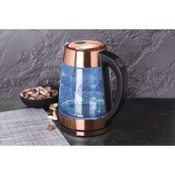 Berlinger Haus Rose Gold Hőfokszabályzós Vízforraló Led-es világítással (BH-9129)