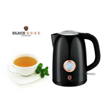 Berlinger Haus Black Rose 1,7 l-es Elektromos Vízforraló Hőfokjelzővel (BH-9077)