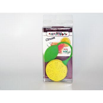 Teatojás szilikon citromkarika formájú (M00743-C)
