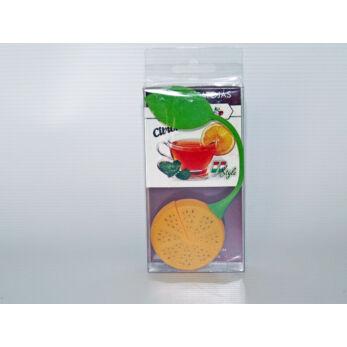 Teatojás szilikon narancskarika formájú (M00743-N)