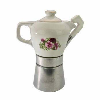 Fatima kávéfőző 2-4 személyes, porcelán kiöntővel (SZÁ-68)