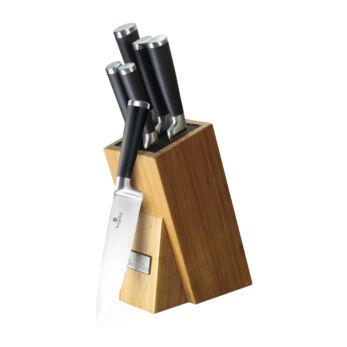 Berlinger Haus Black Royal Késkészlet bambusz állvánnyal (BH-2425)