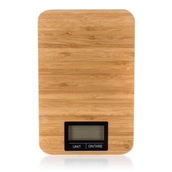 Banquet Bamboo digitális konyhai mérleg 5 kg-ig (BQ-28700921)