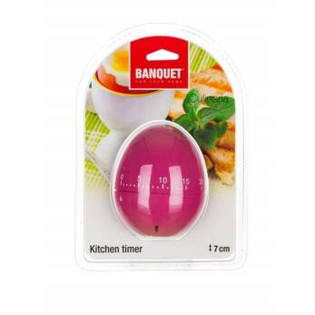 Banquet Konyhai időzítő óra tojás alakú (BQ 28721015)
