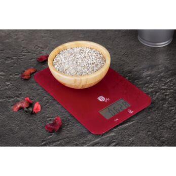 Berlinger Haus Burgundy digitális konyhai mérleg 5 kg-ig (BH-9002)