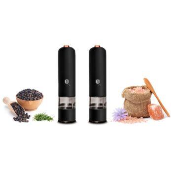 Berlinger Haus 2 db-os elektromos só-és borsőrlő szett Black Rose Gold (BH-9286)