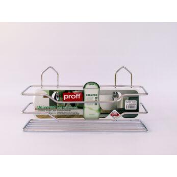 Krómozott acél fürdőszobai polc 1 részes (2601900)