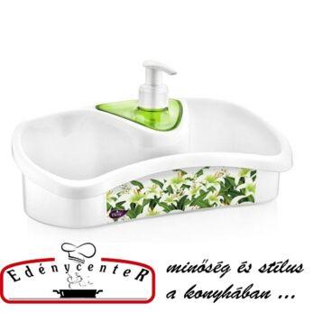 Folyékony szappanadagoló szivacstartóval (TE-500)