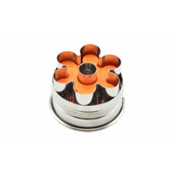 Virág alakú rugós linzerkiszúró (10352)