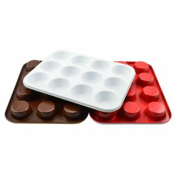 Perfect Home Kerámia bevonatos muffinsütő 12 db-os (11837)