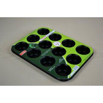 Muffinsütő 12 db-os tapadásmentes bevonattal (404924)